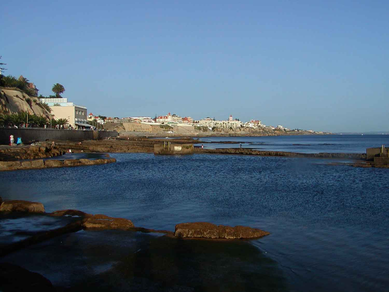 The Cascais coast is 20 minutes away from Sintra